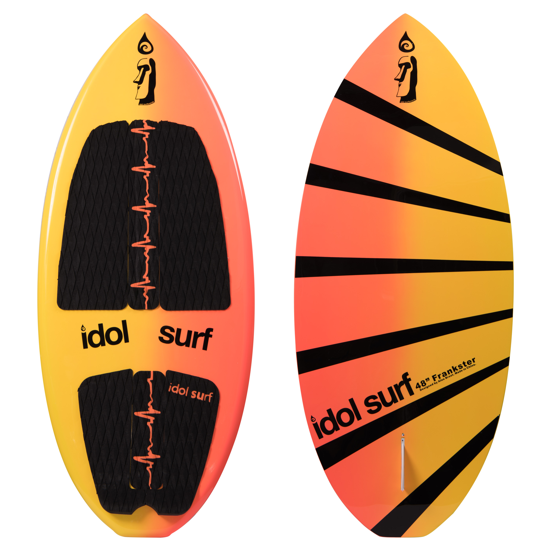 image of frankster skim-style wakesurf board