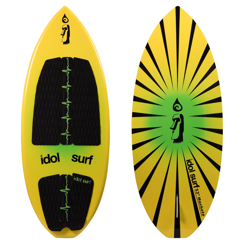 machete skim style wakesurf board