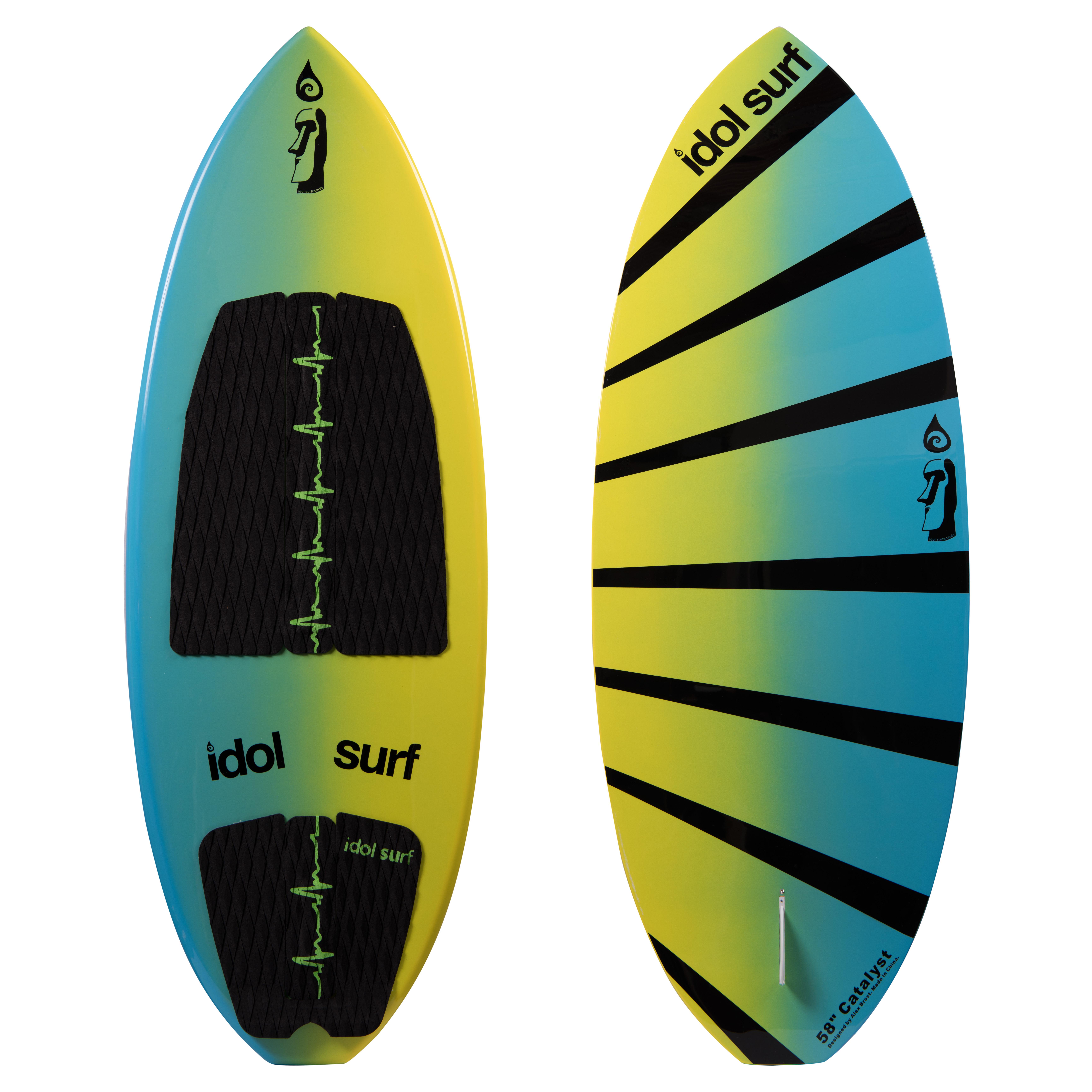catalyst skim style wakesurf board