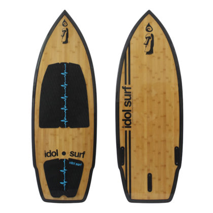 image of big wake surfboard