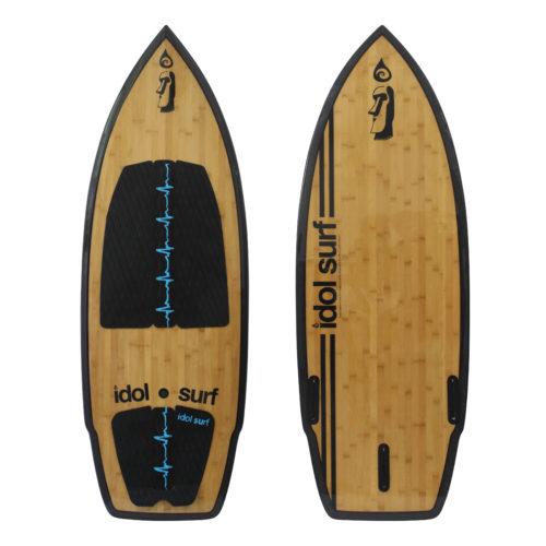 image of big wake surfboard