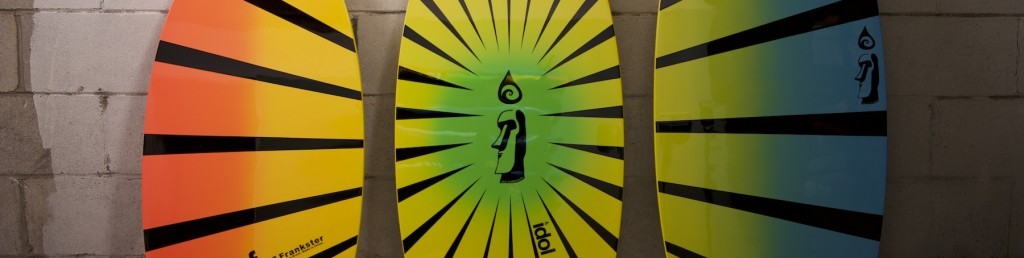 a sneak peak at 2018 skimboards