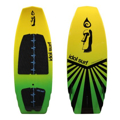 idol surf shovel wake surfboard