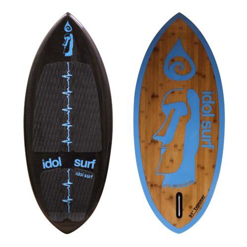 idol trimmer skim wake surfboard