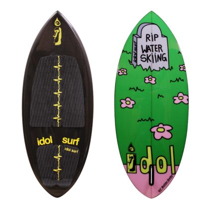 idol butterknife wake surfboard